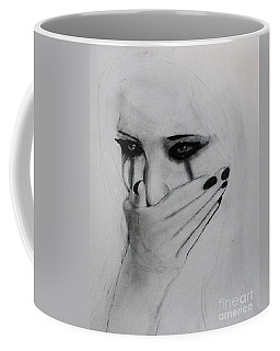 Hurt Coffee Mug by Michael Cross