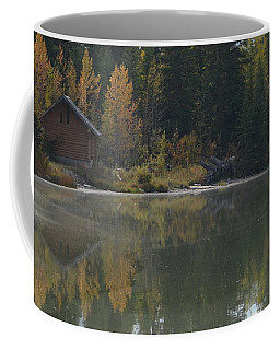 Hut By The Lake Coffee Mug