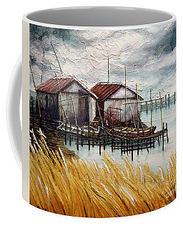 Huts By The Shore Coffee Mug