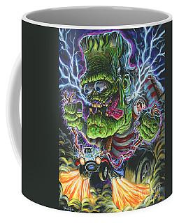 Hybrid Fink Coffee Mug by Mark Tavares