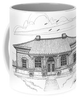 Hyde Park Historic Train Station Coffee Mug