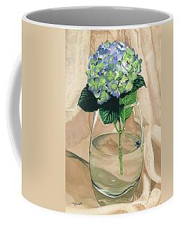 Hydrangea Blossom Coffee Mug by Barbara Jewell
