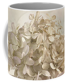 Coffee Mug featuring the photograph Hydrangea Softness by Sandra Foster