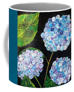 Hydrangeas  Coffee Mug by Reina Resto