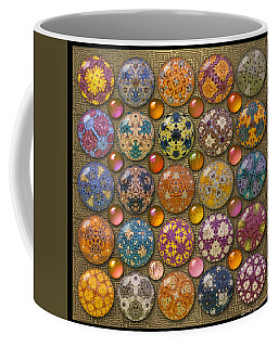 Hyperbolicrochet Kaleidoscope Quilt Coffee Mug