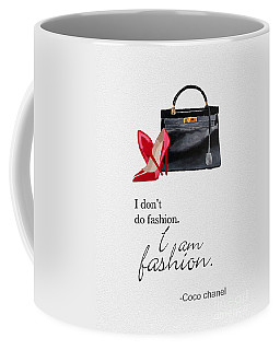 I Am Fashion Coffee Mug by Rebecca Jenkins