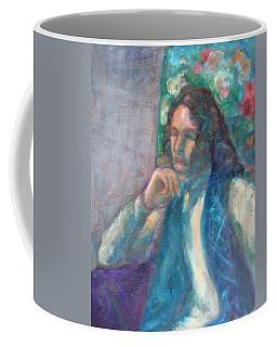 I Am Heathcliff - Original Painting  Coffee Mug