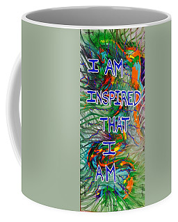 I Am Inspired Coffee Mug