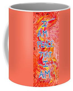 I Am Peace Coffee Mug