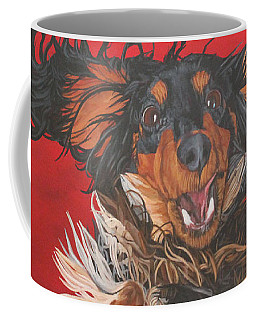 I Am Sooooooo Happy To See You Coffee Mug by Wendy Shoults