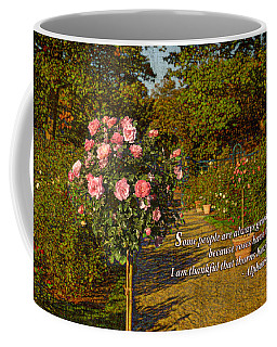 I Am Thankful Thorns Have Roses Coffee Mug