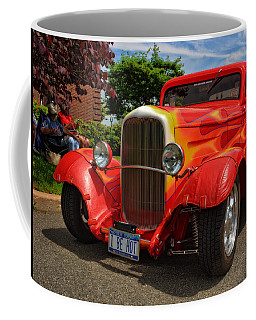 Coffee Mug featuring the photograph I Be Hot by Mike Martin