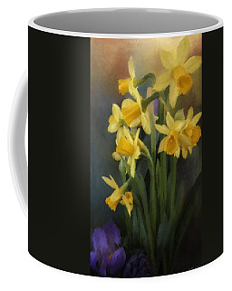 I Believe - Flower Art Coffee Mug