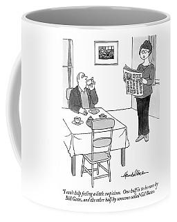 I Can't Help Feeling A Little Suspicious.  One Coffee Mug