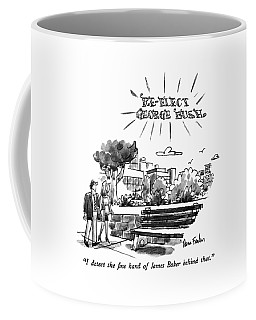 I Detect The Fine Hand Of James Baker Behind That Coffee Mug