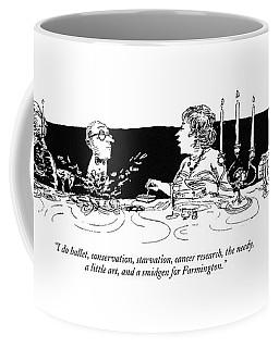 I Do Ballet Coffee Mug