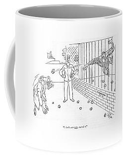 I Don't Care Who Started It Coffee Mug