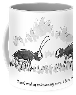 I Don't Need My Antennae Any More.  I Have Cable Coffee Mug