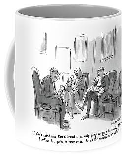 I Don't Think That Bart Giamatti Is Actually Coffee Mug