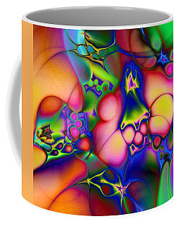 Coffee Mug featuring the digital art I Don't Think We're In Kansas Anymore by Casey Kotas