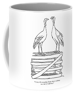 I Have This Recurring Dream About Reclining Coffee Mug
