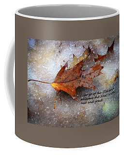 I Let Go Coffee Mug by Patrice Zinck
