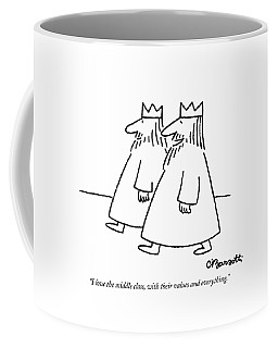 I Love The Middle Class Coffee Mug