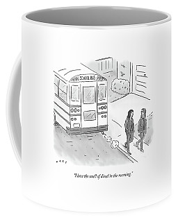 I Love The Smell Of Diesel In The Morning Coffee Mug
