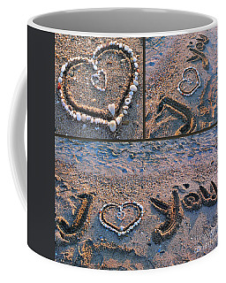 I Love You - Hearts For Valentine's Day Coffee Mug