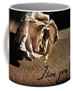 I Love You Letter Coffee Mug