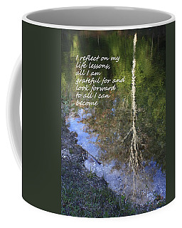 I Reflect Coffee Mug by Patrice Zinck