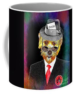 I Report The News Coffee Mug