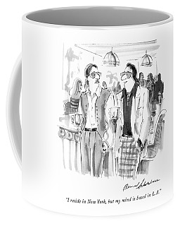 I Reside In New York Coffee Mug
