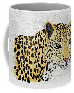 Coffee Mug featuring the painting I See You 2 by Stephanie Grant