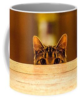 I See You Coffee Mug by Mike Ste Marie