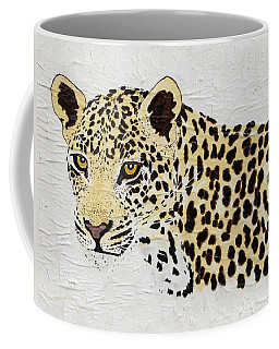 Coffee Mug featuring the painting I See You by Stephanie Grant