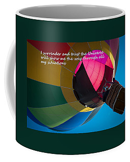I Surrender And Trust Coffee Mug by Patrice Zinck