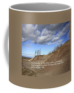 I Surrender To The Flow Of The Universe Coffee Mug by Patrice Zinck