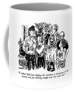 I Talked Vladi Into Skipping The Transition Coffee Mug