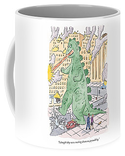 I Thought They Were Cracking Down On Jaywalking Coffee Mug