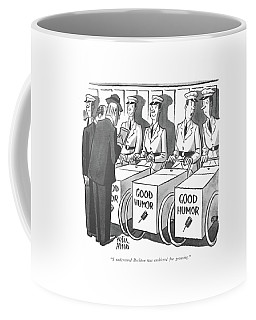 I Understand Bechton Was Cashiered For Grousing Coffee Mug