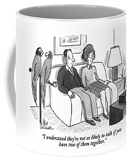 I Understand They're Not As Likely To Talk If Coffee Mug
