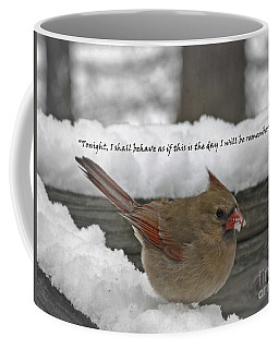 I Will Be Remembered Coffee Mug