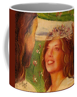 I Will Lift The Veil Coffee Mug by Hazel Holland