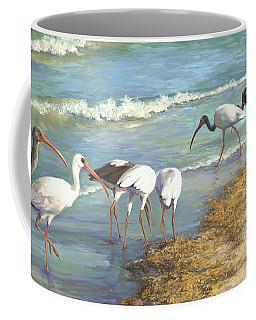Ibis On Marco Island Coffee Mug