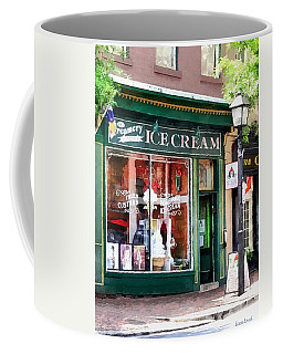 Alexandria Va - Ice Cream Parlor Coffee Mug