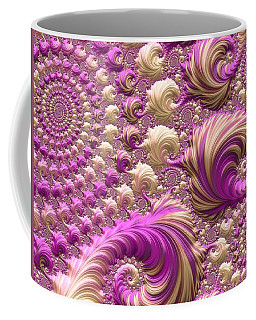 Coffee Mug featuring the digital art Ice Cream Social by Susan Maxwell Schmidt