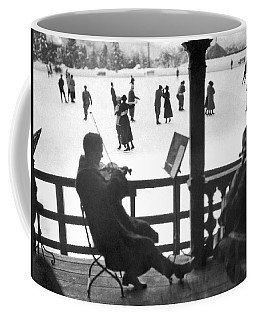 Ice Dancing In Switzerland Coffee Mug