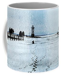 Ice Fishing Solitude 1 Coffee Mug
