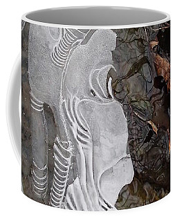 Ice Flow Coffee Mug by Robert Nickologianis
